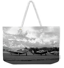 Firing Up - Vintage Planes Weekender Tote Bag