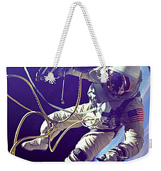 First American Walking In Space, Edward Weekender Tote Bag