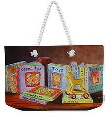 First Books Weekender Tote Bag