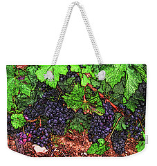 First Came The Grape Weekender Tote Bag