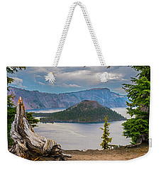 First Crater View Weekender Tote Bag