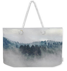 Weekender Tote Bag featuring the photograph First Day Of Autumn by Katie Wing Vigil