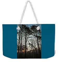 First Day Of Spring, North Carolina Pines Weekender Tote Bag