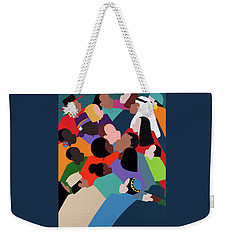 First Family The Obamas Weekender Tote Bag