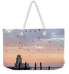 First Flight At First Light Weekender Tote Bag