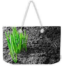 First Green Shoots Of Spring And Dirt Weekender Tote Bag