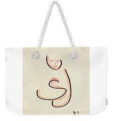 First Hug Weekender Tote Bag