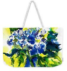 First Hydrangea Weekender Tote Bag