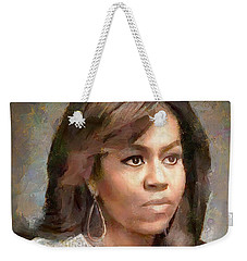 First Lady Michelle Obama Weekender Tote Bag