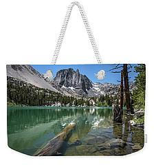 First Lake Reflection Weekender Tote Bag