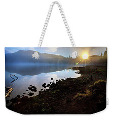 Weekender Tote Bag featuring the photograph Daybreak by Cat Connor