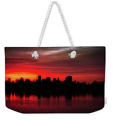First Light In Denver Weekender Tote Bag