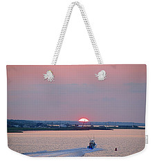 First Light Weekender Tote Bag by  Newwwman