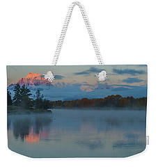 Weekender Tote Bag featuring the photograph First Light Of Dawn by Yeates Photography