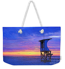 First Light On The Beach Weekender Tote Bag