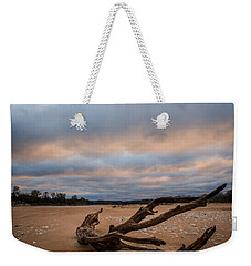 First Light On The Kaw Weekender Tote Bag