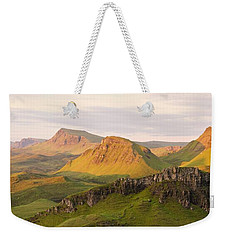 First Light Trotternish Panorama Weekender Tote Bag