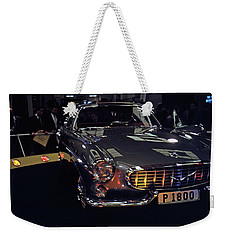 Weekender Tote Bag featuring the photograph First Look P 1800 by John Schneider