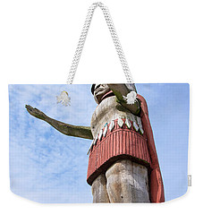 First Nations Welcome Weekender Tote Bag