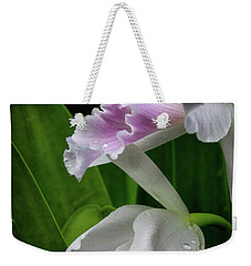 First Orchid At The Conservatory Of Flowers Weekender Tote Bag