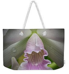 First Orchid Straight On Weekender Tote Bag
