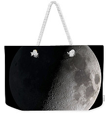 First Quarter Moon Weekender Tote Bag