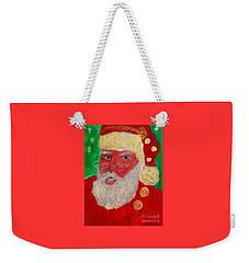 First Santa Claus 1773 Weekender Tote Bag
