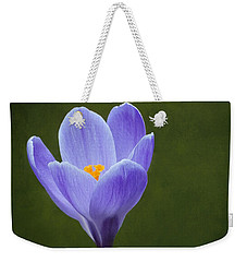 Weekender Tote Bag featuring the photograph First Sign Of Spring by Kathi Mirto