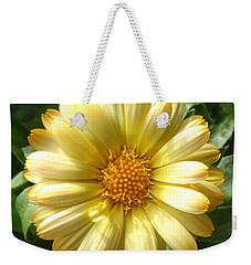 First Sign Of Summer Weekender Tote Bag