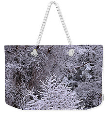 First Snow I Weekender Tote Bag