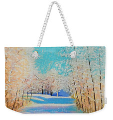 First Snowfall #2 Weekender Tote Bag by Rae  Smith PAC