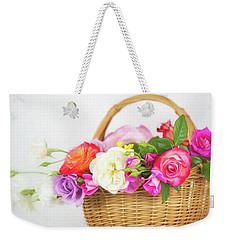 First Spring Garden Roses Weekender Tote Bag