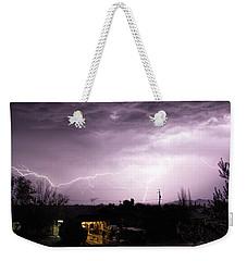 First Summer Storm Weekender Tote Bag