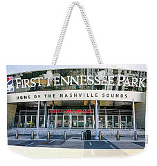 First Tennessee Park, Nashville Weekender Tote Bag