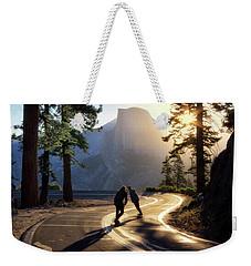 First Tracks Weekender Tote Bag by Nicki Frates