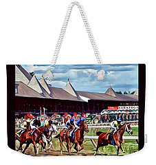 First Turn Saratoga Weekender Tote Bag