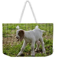 First Twin Weekender Tote Bag by Debby Pueschel