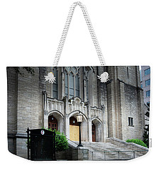 First United Methodist Church Charlotte Weekender Tote Bag