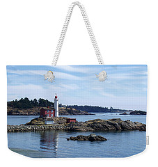 Fisgard Lighthouse Shoreline Weekender Tote Bag