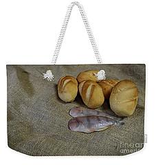Fish And Loaves Weekender Tote Bag