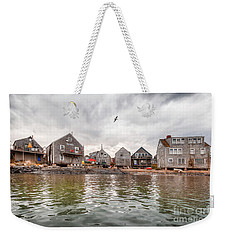 Fish Beach Weekender Tote Bag