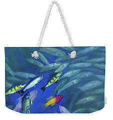 Fish Bowl Weekender Tote Bag