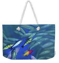 Fish Bowl Weekender Tote Bag