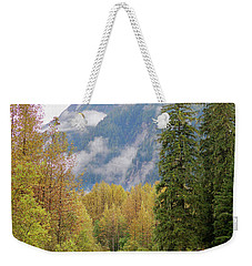 Weekender Tote Bag featuring the photograph Fish Creek Autumn by Stanza Widen