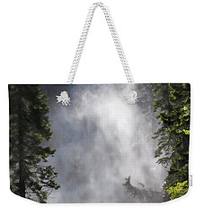 Fish Creek Falls Weekender Tote Bag by Don Schwartz