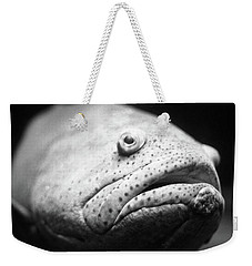 Fish Face Weekender Tote Bag