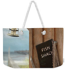 Weekender Tote Bag featuring the photograph Fish Fileted by Lori Deiter