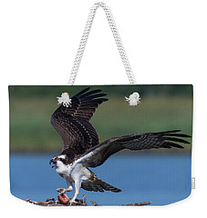 Fish For The Osprey Weekender Tote Bag