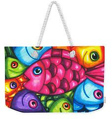 Fish Friends Weekender Tote Bag