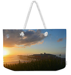 Weekender Tote Bag featuring the photograph Fish Heads 7/6/18 by Barbara Ann Bell